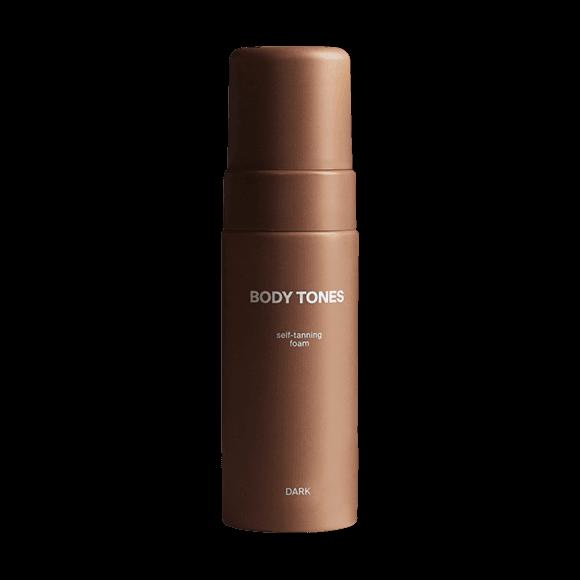 Self-tanning foam Body Tones Dark